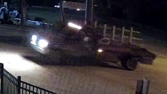 Scott police are asking for the public's help in identifying two suspects and a vehicle believed to be connected to a burglary and the theft of $10,000 worth of construction material.