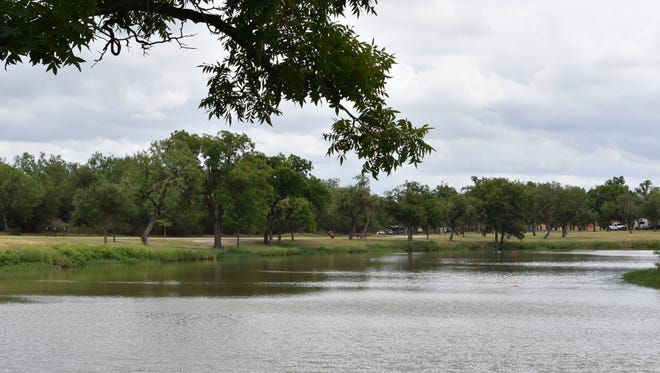 Lake Nasworthy is shown in this July 2018 photo.