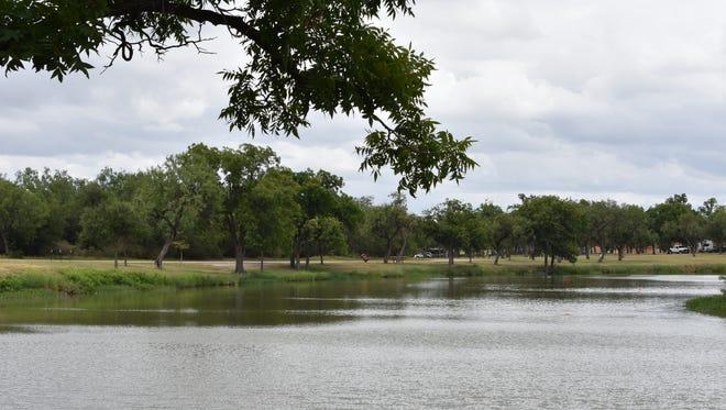 Lake Nasworthy in San Angelo