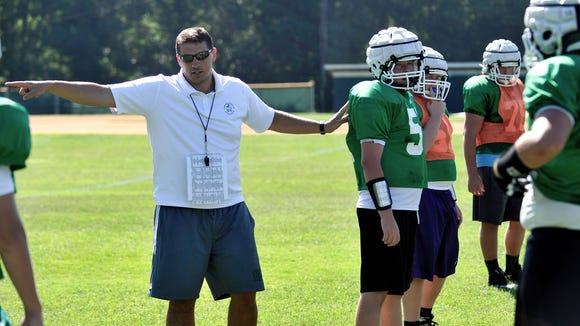 Christ School head coach Mark Moroz has resigned.