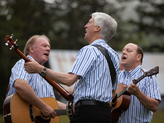 The Kingston Trio 3.0 will perform at 2 p.m. Nov. 12 at the Civic Arts Plaza. From left are trio members Mike Marvin, Tim Gorelangton and Josh Reynolds.