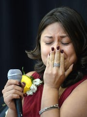 Jessica Rodriguez gets emotional as she recounts the