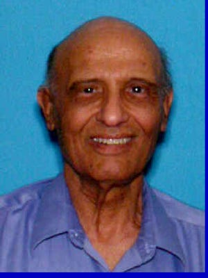 Police say Amnon Malhi went missing about 12:15 p.m. Tuesday