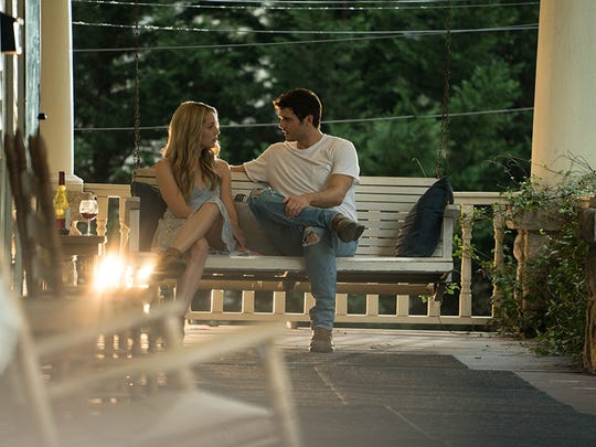 """Jessica Rothe and Alex Roe catch up (and they have a lot of catching up to do) in """"Forever My Girl."""""""