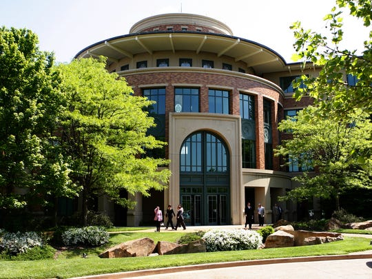 Fidelity Investments' 188-acre Covington campus opened in 2008.