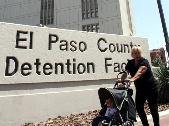 The El Paso County Jail in Downtown.