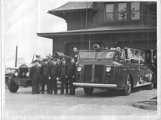 1942 JOX and 1929 ALF at No.4 Fire Station