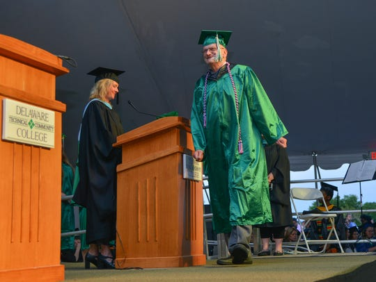 Fred Reich, 64, earned an Associate of Science degree