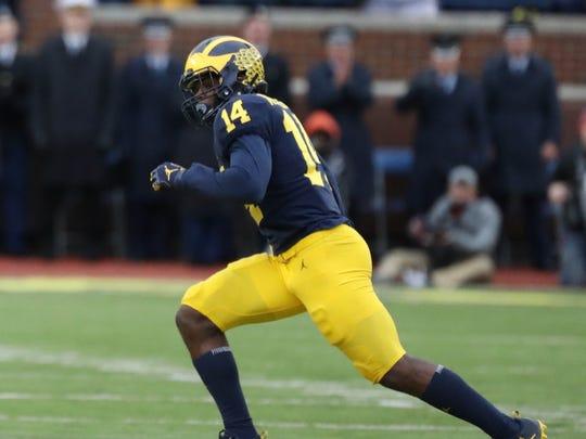 Michigan's Josh Metellus.