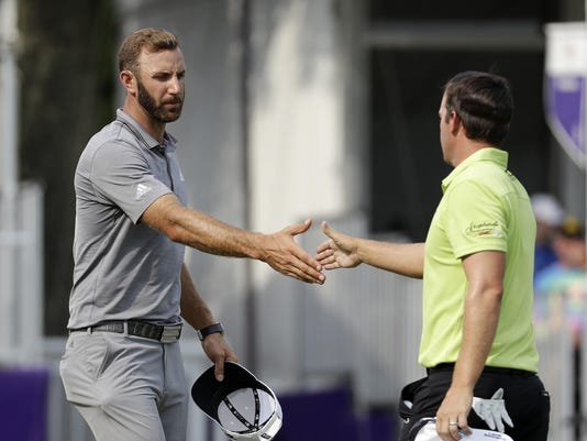 Dustin Johnson,Ryan Blaum