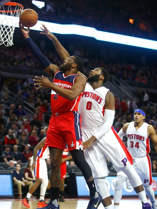Washignton Wizards v Detroit Pistons