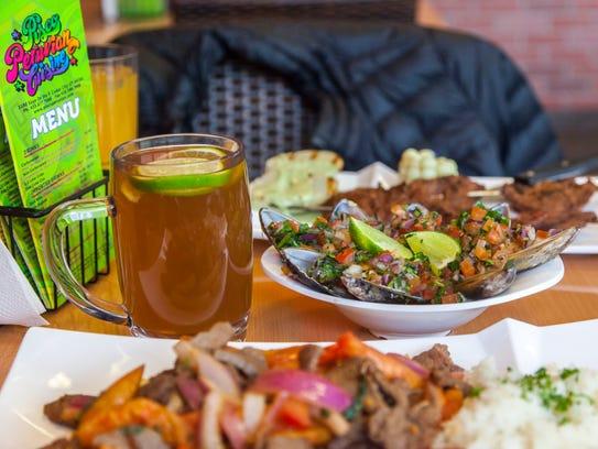 Authentic Peruvian food at Pisco Peruvian Cuisine in