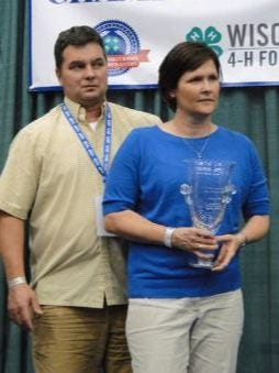 Dave and Vicky Van Henelryk of Maplewood Meats at Green Bay were named Best of Show meat processors during the annual 4-H Foundation Meat Products Auction at the Wisconsin State Fair.