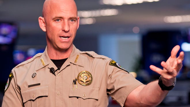 County Sheriff Paul Babeu, one of the defendants in a federal complaint on asset seizure.