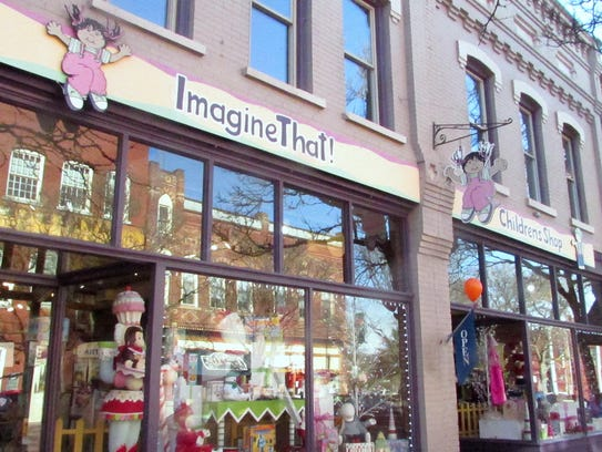 Imagine That!, a toy and children's clothing store