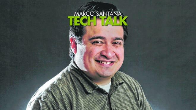 Technology reporter Marco Santana