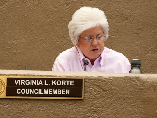 Scottsdale Councilwoman Virginia Korte has been a vocal