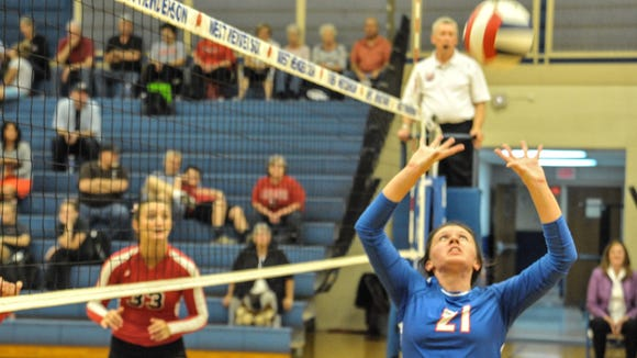 Sierra Jones and West Henderson are home for the fourth round of the NCHSAA 3-A volleyball playoffs.