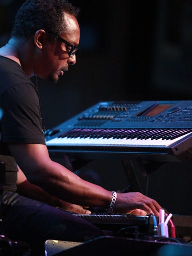 Techno pioneer Derrick May performs with the Detroit