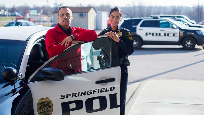 For the first time a father and daughter  are working at the same time at the Springfield Police Department. Officer Sarah Smith joined her father, Cpl. Tony Smith, at the police department this fall.