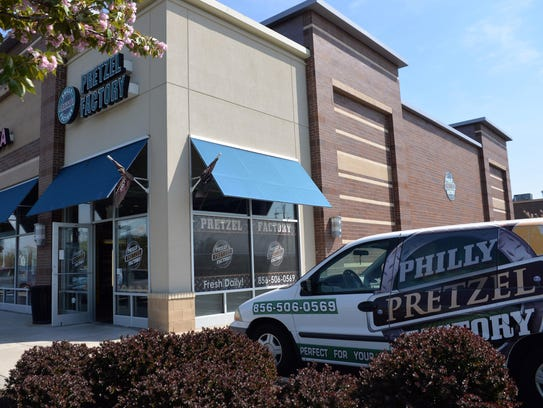 Philly Pretzel Factory in Millville, Monday, Apr. 25,