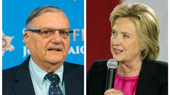 Who know Joe Arpaio and Hillary Clinton would have