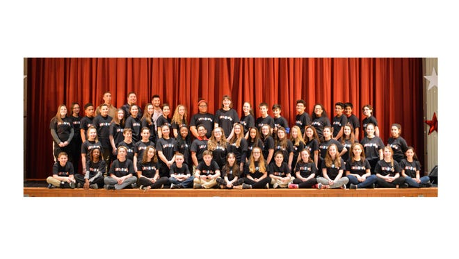 """The Vineland All-Middle School Production Company will present """"Hairspray Jr."""" at 7 p.m. March 3 and 4 and 2 and 7 p.m. March 5 in the auditorium at Veterans Memorial Intermediate School at 424 S. Main Road in Vineland."""