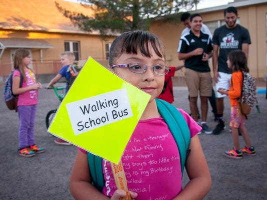 Children Walk to School Day 2