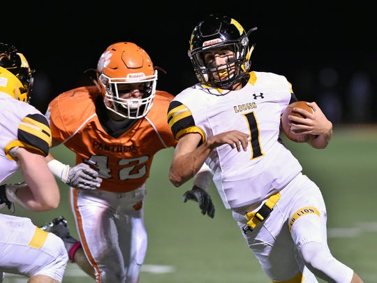 Red Lion's closest margin of victory this season was 10 points against Central York on  Oct. 21. While the Lions rolled to a 10-0 regular-season record, their schedule may not have adequately prepared the team for postseason play.