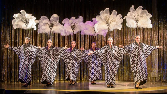 "The Cagelles look fabulous in Skylight Music Theatre's ""La Cage Aux Folles."""