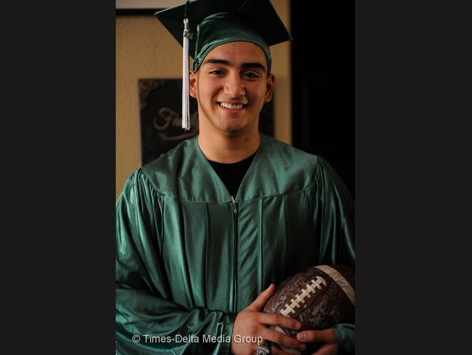 Football was Isaac Gonzales' saving grace as he battled cerebral palsy as a child. He was a starting player on the defensive line during his junior and senior years at El Diamante High School thanks to his determination to not let his disability wear him down. Now, he's enrolling at College of the Sequoias and is the first in his family to go to college.