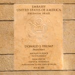 As U.S. Embassy moves to Jerusalem and Gaza rages, where is Trump's promised peace plan?