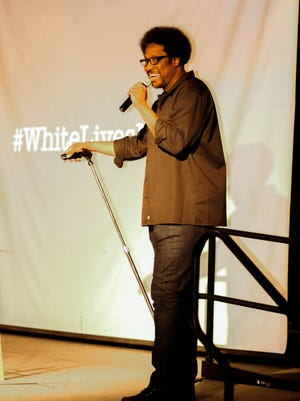 The inaugural Social Justice Symposium event featured keynote speaker and comedian, W. Kamau Bell.