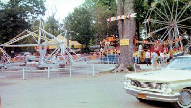 Several rides were once well known attractions at Long Point Park.