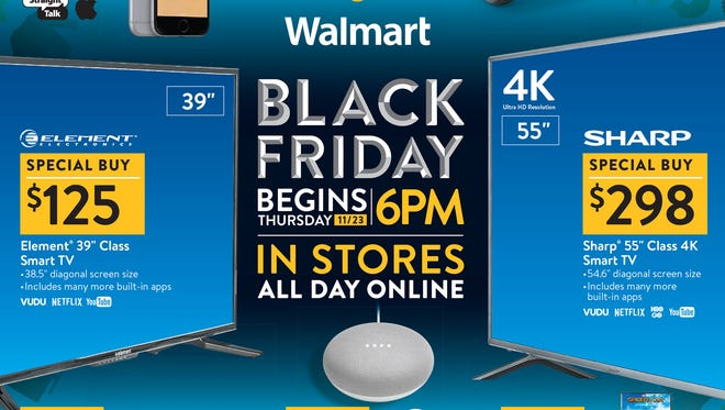 Black Friday 2017 Walmart Ad Includes Deals On Electronics Toys