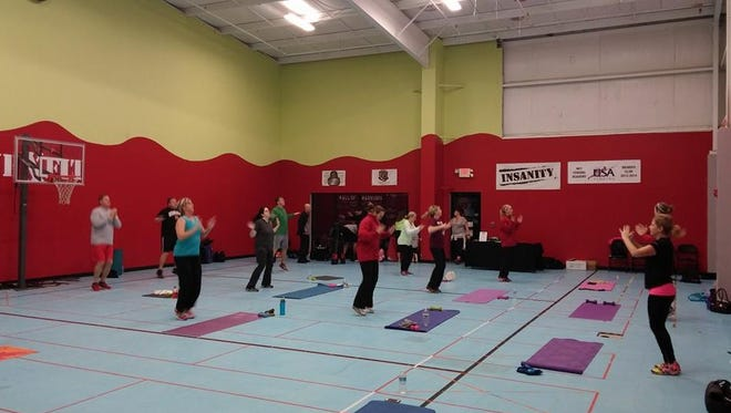 An InSaneXFit class at Pleasure Isle in Erlanger. The classes are coming to Southgate in March.