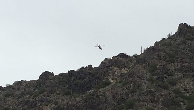 Phoenix Fire Department emergency personnel responded a mountain rescue call at Piestewa Peak early Wednesday morning.