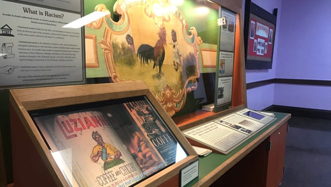The carousel panel on display at Central Church of Christ.