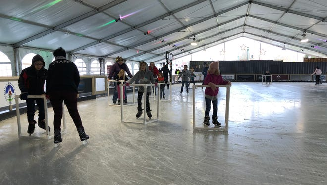 Salem On Ice: A60-foot-by-120-foot seasonal indoor icerink in Salem's Riverfront Park, which hosts partiesand public skating sessions, varying hours, Salem's Riverfront Park,200 Water St. NE. Adults $15, children $12.www.salemonice.com.