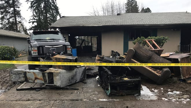 Salem Police are investigating a fire that occurred at 3555 Williams AvenueNE, Salem around 3 a.m. on Saturday, Feb. 3.