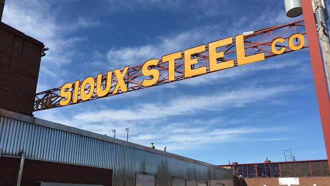 Sioux Steel's facilities in Sioux Falls. The company is planning to vacate the 10.75-acre site and redevelop it.