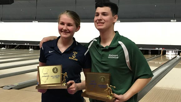 The 2018 state individual bowling champions are Toms