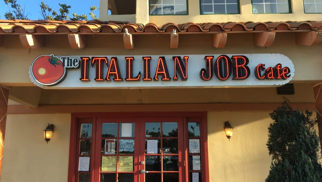 The Italian Job Cafe in Oxnard is scheduled to serve its last dishes of pasta on March 31. Its location has already been claimed for use by a new restaurant.