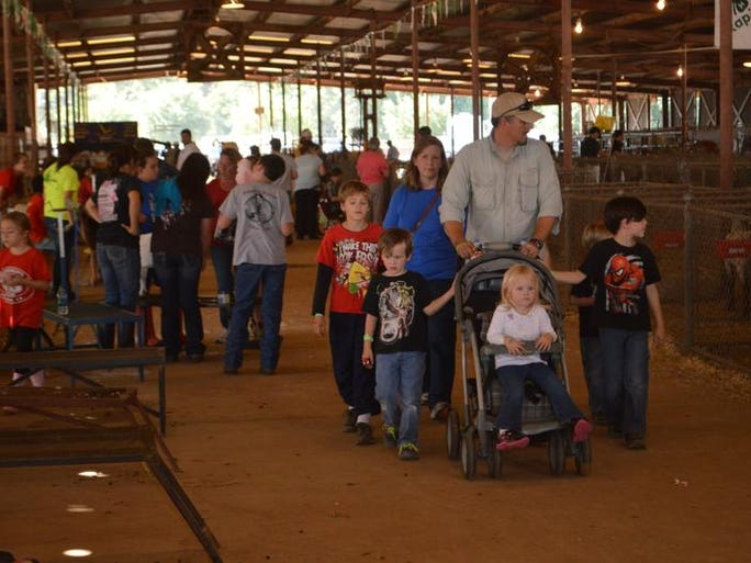 Scenes from the Rapides Parish Fair, Friday, Oct. 11, 2013.