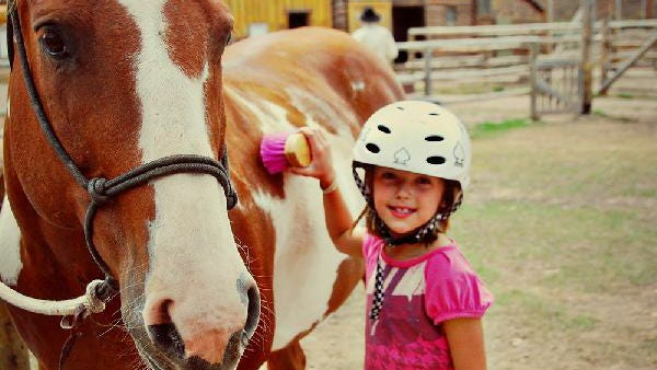 Activities at Red Rock Ranch include horseback riding, trap shooting, hiking and fly fishing.