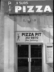 The Pizza Pit was at the site of El Azteco before it opened at 203 M.A.C. Ave., in East Lansing in 1976.