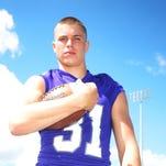 Fremont Ross senior linebacker Tyler Schell.