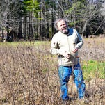 Butterfly-keeper, Van Burnette also grows hops, joining his North Fork countrymen in supplying imbibers through the ages with what they need.