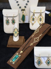 Pieces from Armenta designs were on display during one of the many popular trunk shows at Clarkes Jewelers.