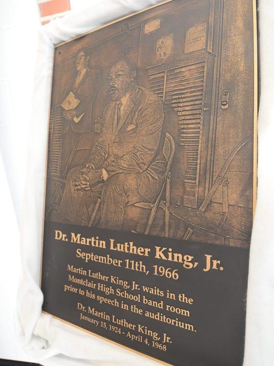 MLK plaque